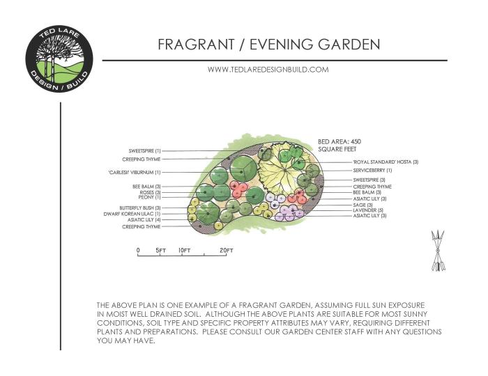 Fragrant Evening Garden Design Landscaping