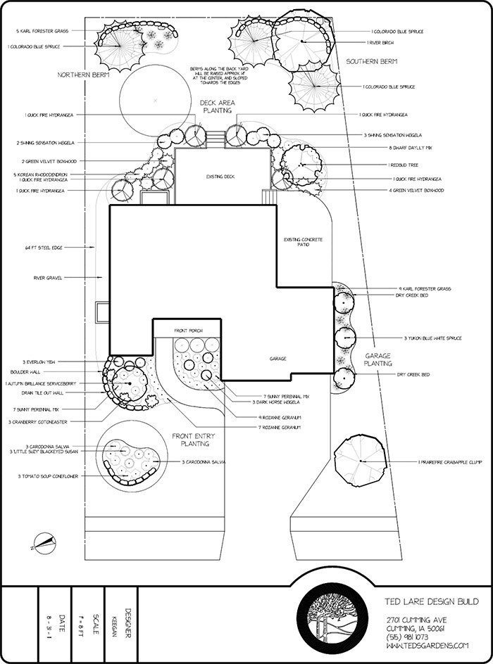 Professional Landscaping Design Plans Ted Lare Design Build
