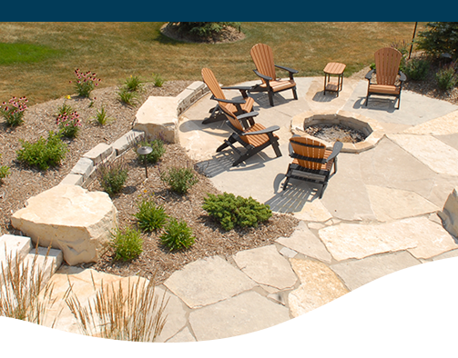 Landscape Design Trends Man Made Stone Pros And Cons Ted Lare