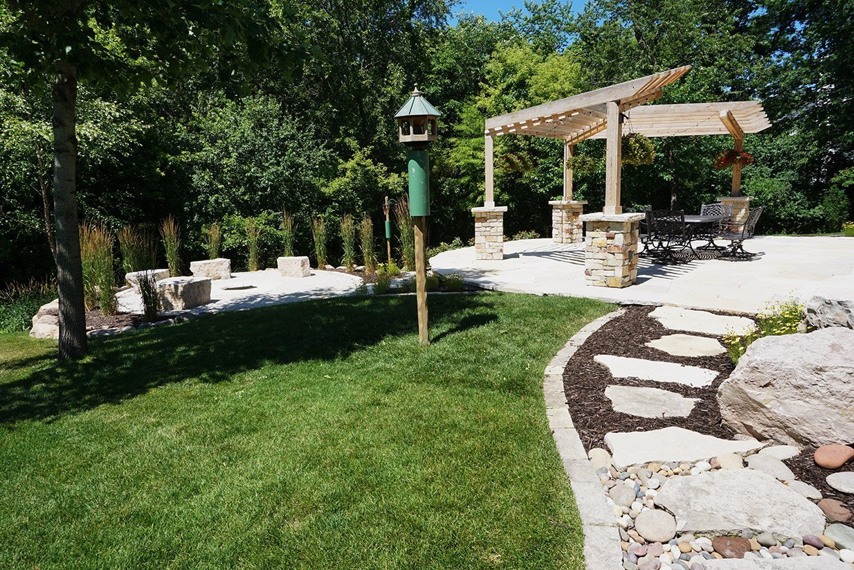 Natural Stone Patios Gallery Ted Lare Design Build