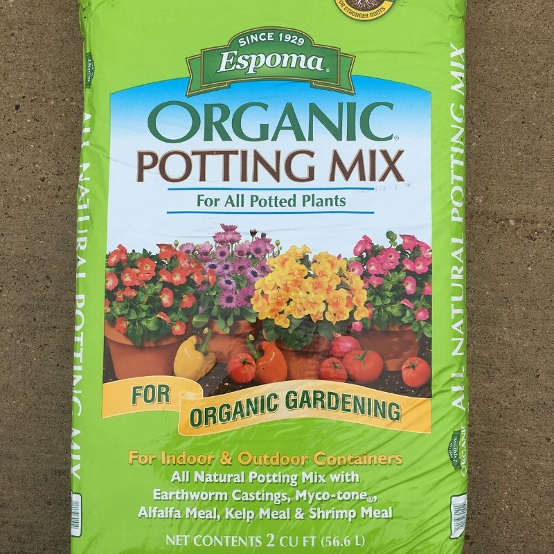Espoma Organic Potting Mix 2 Cu Ft Ted Lare Design Build