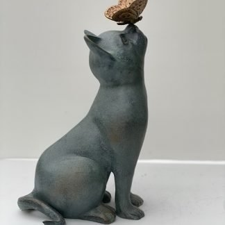 Curiosity Garden Sculpture Cat