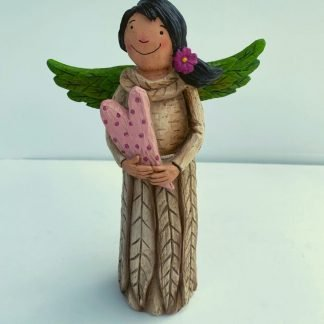 Garden Angel Heart 8""