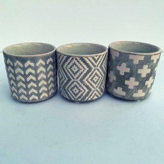 Batik Mini Pot