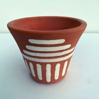 Navajo Collection Horizontal Lines Planter