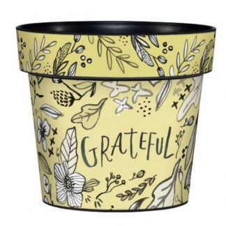 "Grateful 6"" Art Pot"