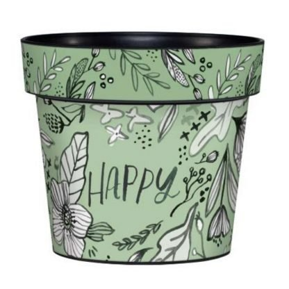 "Happy 6"" Art Pot"