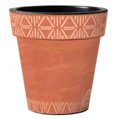 "Terra Flora Diamond 15"" Pot"