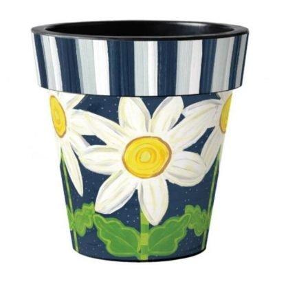 "Daisy Blues 18"" Art Pot"