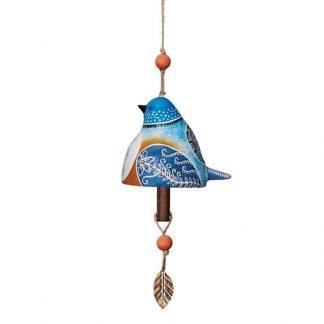 Bluebird Ceramic Bell