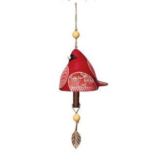 Cardinal Ceramic Bell