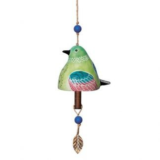 Hummingbird Ceramic Bell
