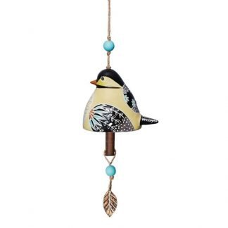 Chickadee Ceramic Bell