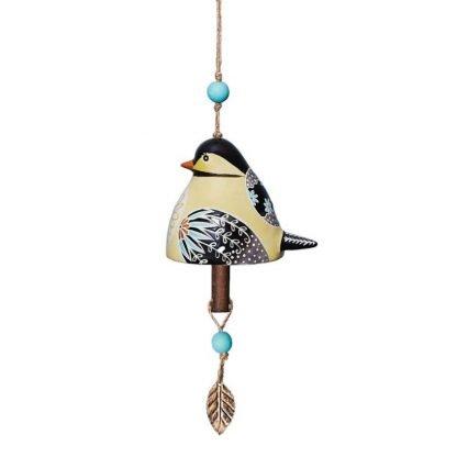 Chickadee Ceramic Bell