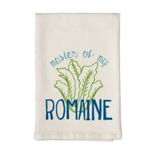 Master of My Romaine Towel