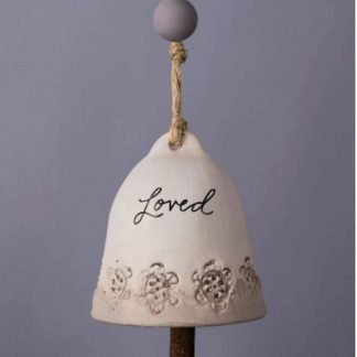 Loved Ceramic Small Bell
