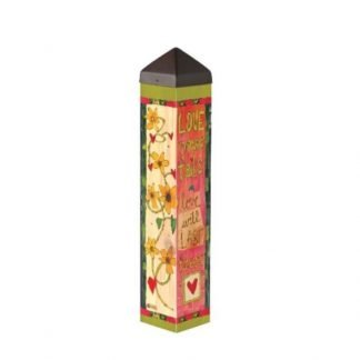 "Love Never Fails 20"" Art Pole"