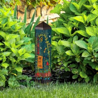 "Secret Garden 20"" Art Pole"