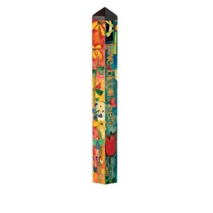 "Love Garden 40"" Art Pole"