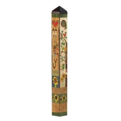 """Happy Together 40"""" Art Pole"""