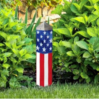 "Stars and Stripes Forever 20"" Art Pole"