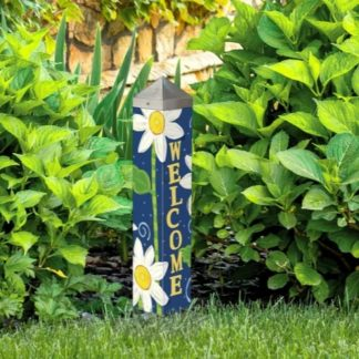 "Daisy Blues 20"" Art Pole"