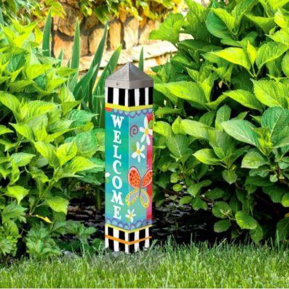 """Folk Garden 20"""" Art Pole"""