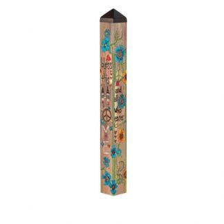 "House Blessing 40"" Art Pole"