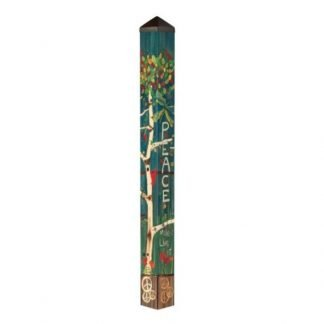 "Peace Tree 60"" Art Pole"