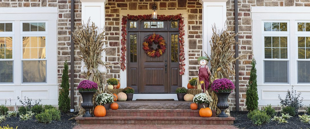 autumn porch inspiration fall decor Ted Lare