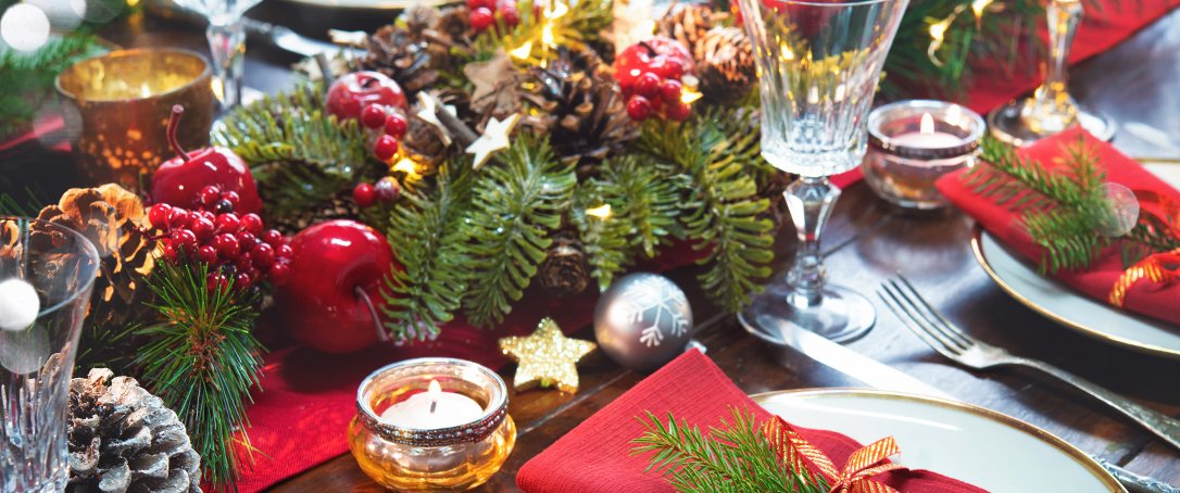 holiday centerpiece Ted Lare