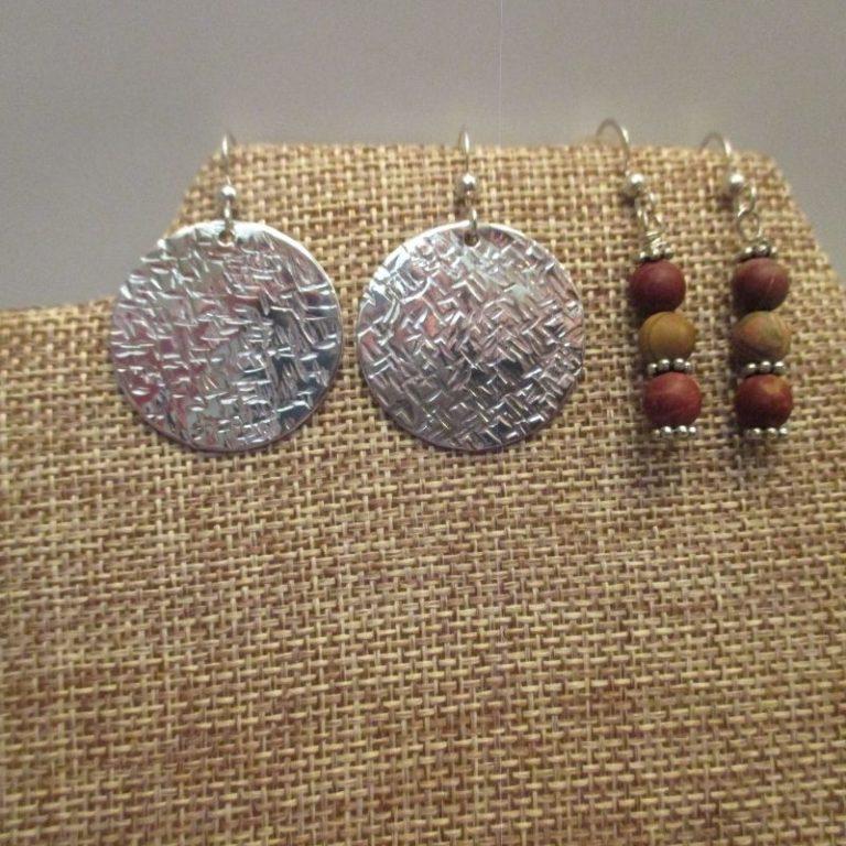 Sterling Silver Beaded Earrings Workshop 10/16/21 1pm